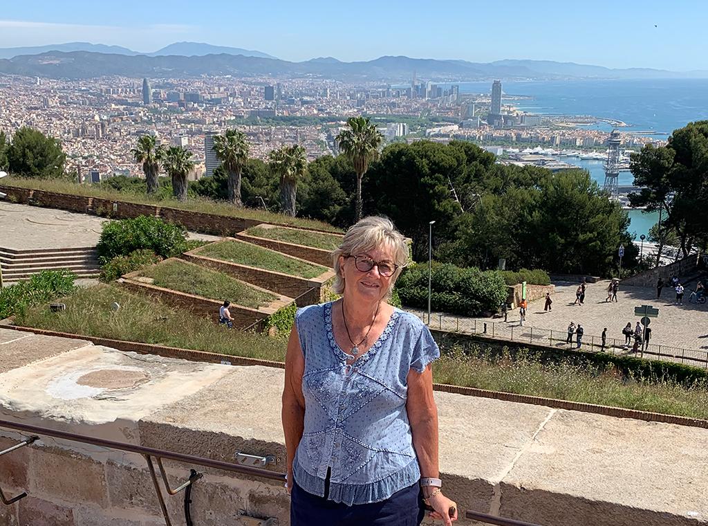 Lynda in Barcelona